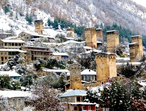 Winter Tourist Season Was Open in Svaneti